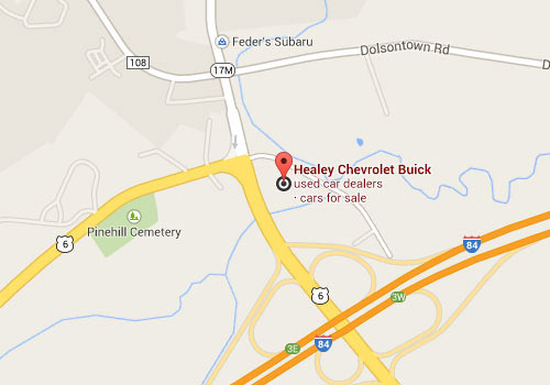 directions to Healey Buick